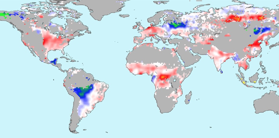 NASA Satellite Identifies Global Ammonia 'Hotspots'