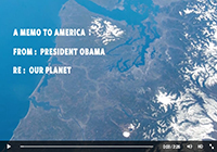 AIRS Carbon Dioxide Visualization Featured in White House Climate Change Video