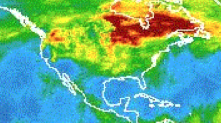 AIRS Animation Shows Carbon Monoxide Plume Transport from U.S. Fires