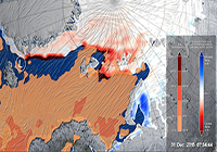 Extremely Warm Winter Cyclone Weakened Arctic Sea Ice Pack