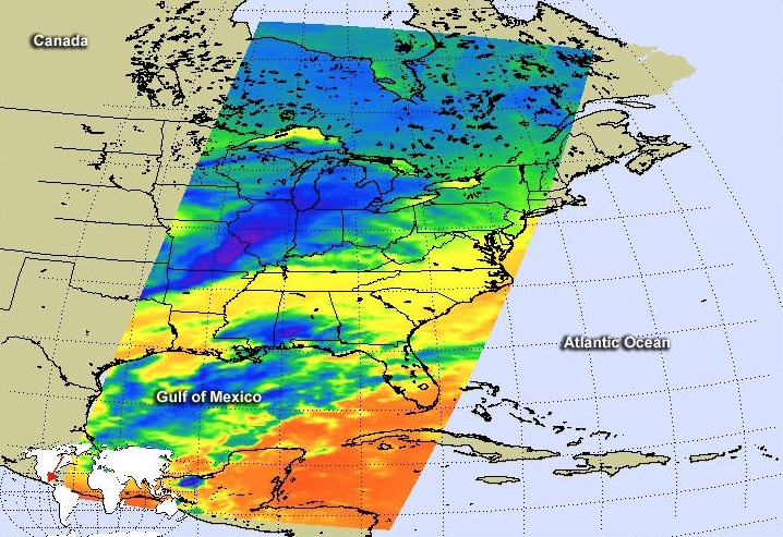 "NASA, NOAA Satellites See Winter Storm Madness ""March"" to the East"