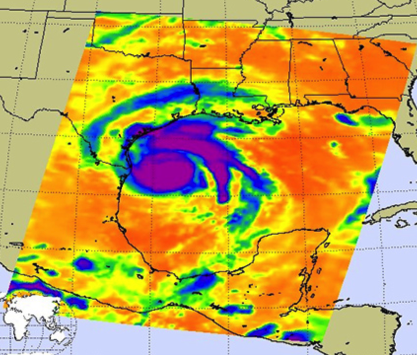 NASA Satellite Images Show Evolution of Hurricane Harvey